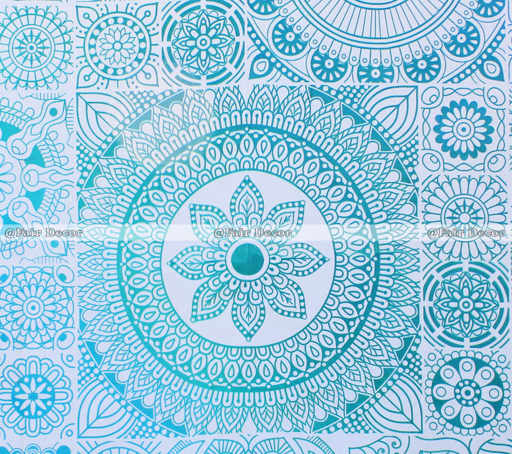 light blue lace mandala - photo #27